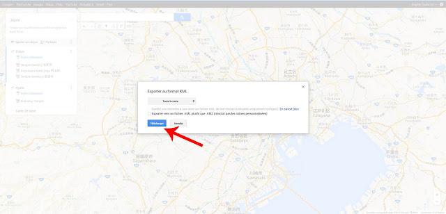 Enregistrer Google Maps
