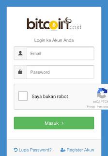 Melihat Alamat Nomor Rekening Dompet Bitcoin di Vip Bitcoin