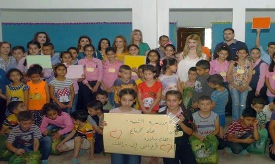 مبادرة لزرع الفرح في قلوب الأطفال الأيتام بالسويداء بعنوان (أغراضك أغراضي)