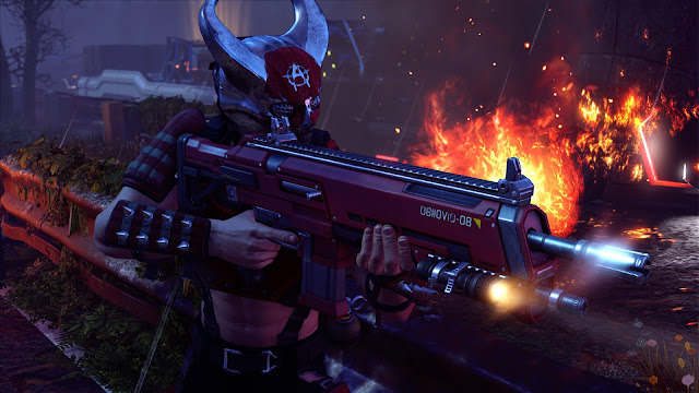 Review – XCOM 2, Anarchy's Children red helmet fire