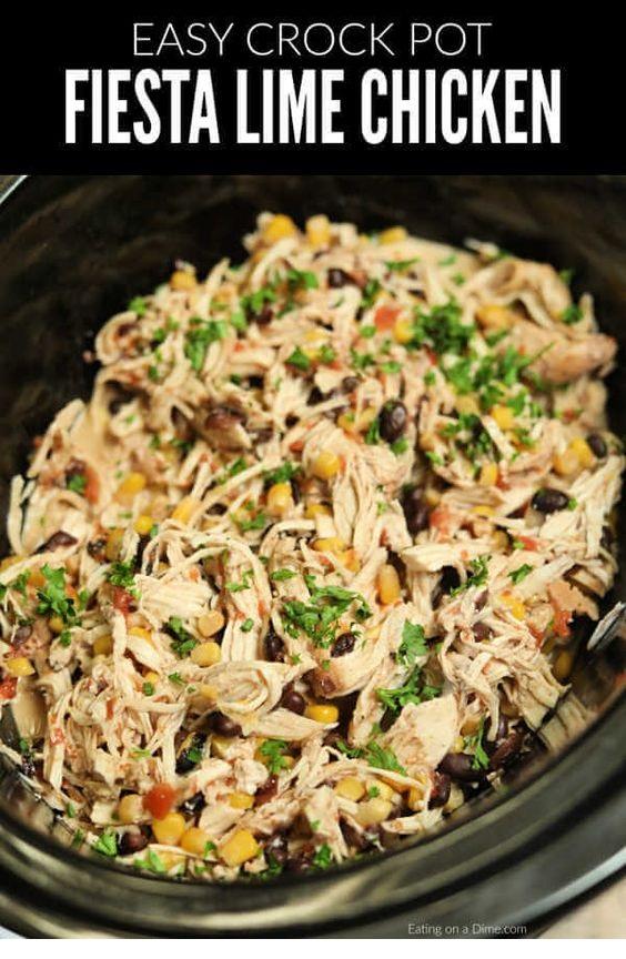 Crock Pot Fiesta Chicken Recipe