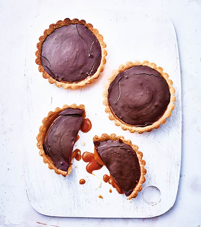 recette tartelettes chocolat caramel