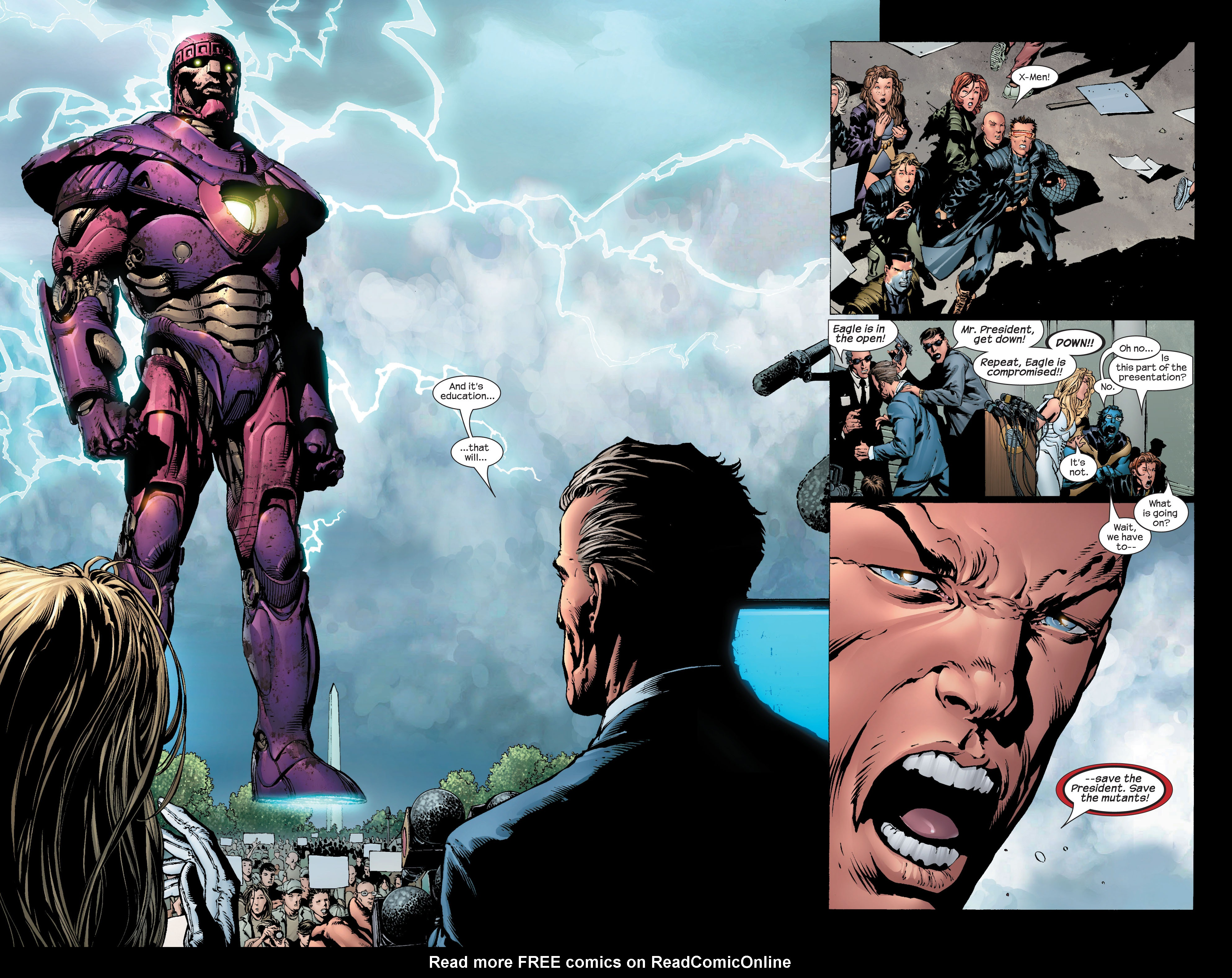 Read online Ultimate X-Men comic -  Issue #44 - 13
