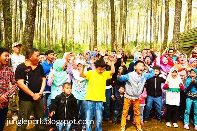 Tempat Family Gathering di Lembang Jungle Discovery Bandung