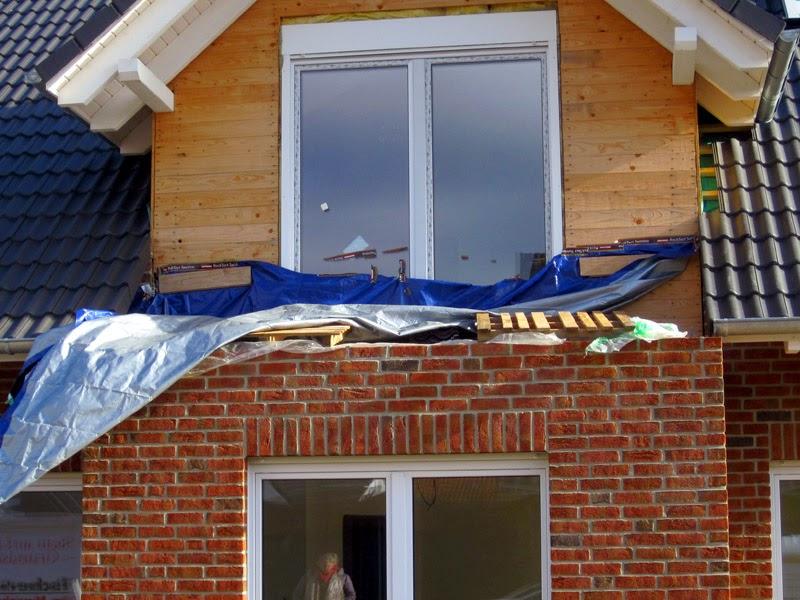 Erker Und Balkon Plane Als Regenschutz Teil Ii Bautagebuch Isernhagen