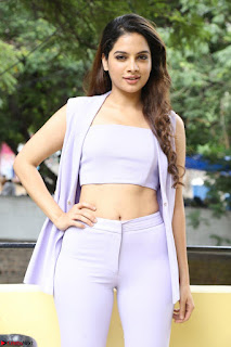 Tanya Hope in Crop top and Trousers Beautiful Pics at her Interview 13 7 2017 ~  Exclusive Celebrities Galleries 056.JPG