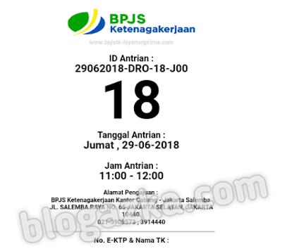 ID antrian online claim house bpjs ketenagakerjaan