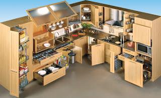 Интересные инженерные идеи для кухонных систем хранения
