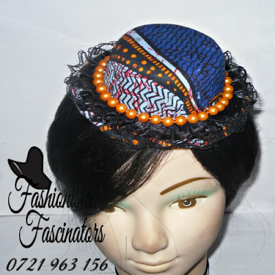 Buy blue hats and fascinators Nairobi Kenya