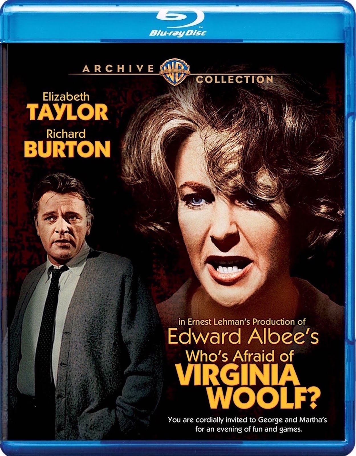 blu-ray and dvd covers: WHO'S AFRAID OF VIRGINIA WOOLF ...