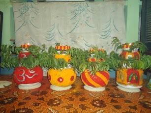 Telangana Bonalu Festival Hyderad Hindu Temples