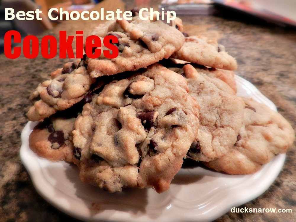 chocolate chip cookies, Toll House cookies, cookie recipe