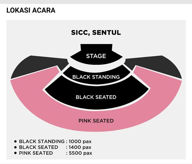 Lokasi konser Blackpink di Indonesia