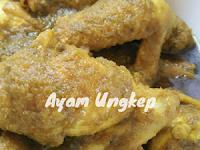Resepi Ayam Ungkep