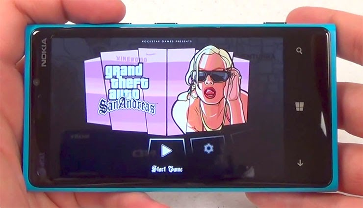 Gta San Andreas Nokia Lumia 520: GTA San Andreas Optimized For 512 Ram Devices (Lumia