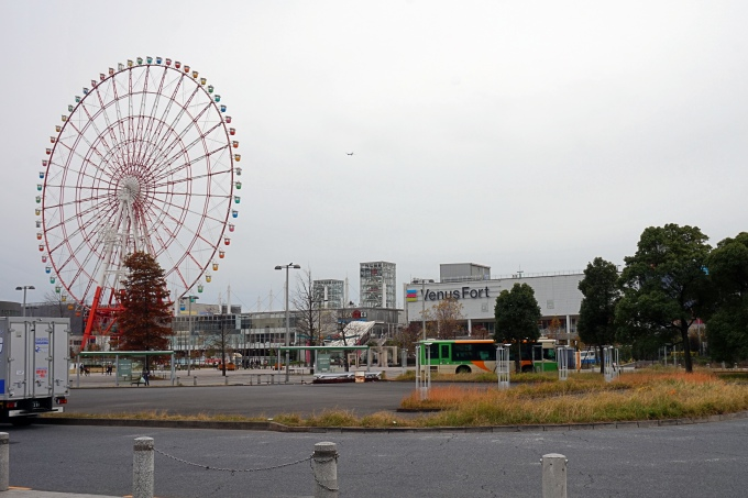 Kokemuksia Tokion nähtävyyksistä ja yksinmatkailusta - vinkkejä matkalle ja aukioloaikoihin / Odaiba, maailmanpyörä