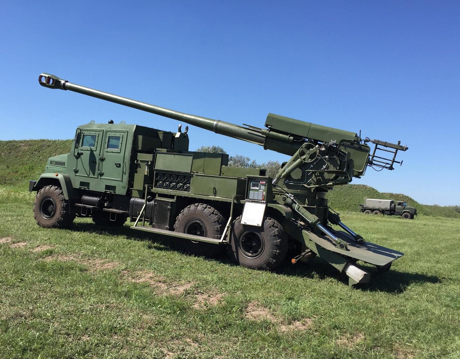 Перші фото української 155-мм САУ «Богдана»