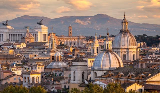 O clima em Roma - Verão