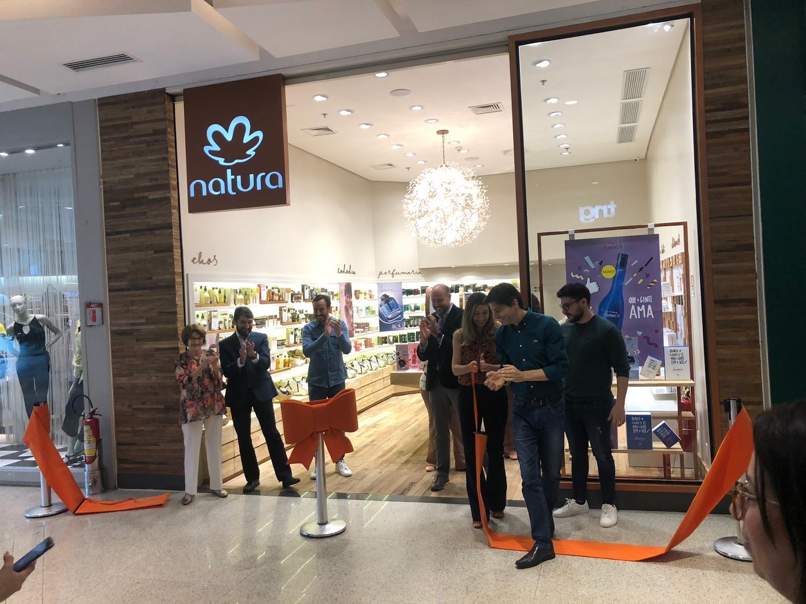 Natura inaugura primeira loja própria em Brasília