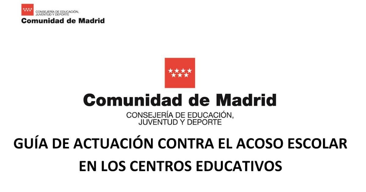 Crea y aprende con laura nueva gu a de actuaci n contra for Rea comunidad de madrid