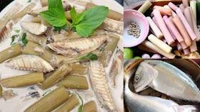 ชวนทำแกงกะทิปลาทูใส่สายบัว สูตรโบราณคุณยายให้มา หอม อร่อย