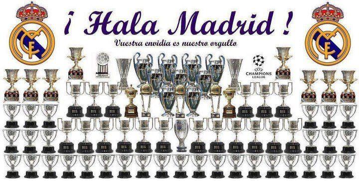 Real Madrid Todas Las Copa Que A Ganado El Real Madrid