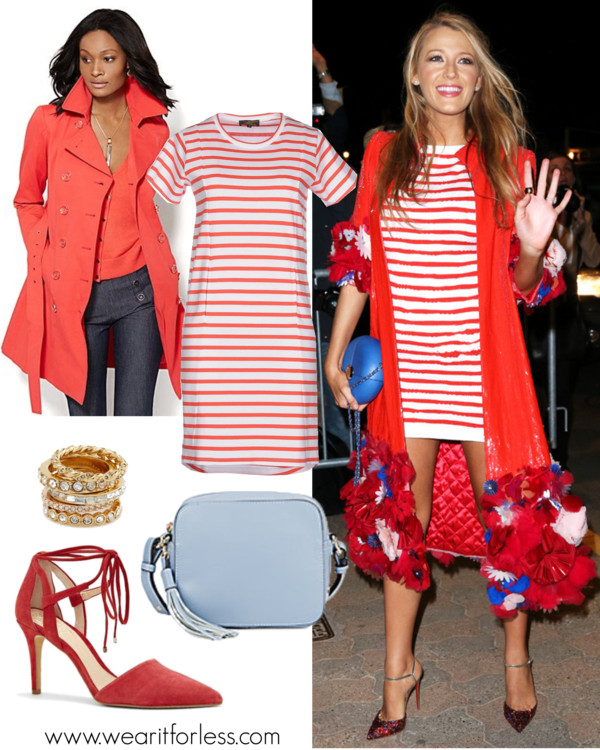 Le Mont St Michel Short Dress $65 (reg $119) // New York & Co Double-Breasted Trench Coat $50 (reg $100) // Vince Camuto Bellamy Tie Top Point Toe Heel $55 (reg $119) // KC Jagger Chelsea Leather Crossbody Bag $50 (reg $135) // Ann Taylor Art Deco Stackable Rings $20 (reg $50)] (via) Le Mont St Michel Short Dress $65 (reg $119) // New York & Co Double-Breasted Trench Coat $50 (reg $100) // Vince Camuto Bellamy Tie Top Point Toe Heel $55 (reg $119) // KC Jagger Chelsea Leather Crossbody Bag $50 (reg $135) // Ann Taylor Art Deco Stackable Rings $20 (reg $50)