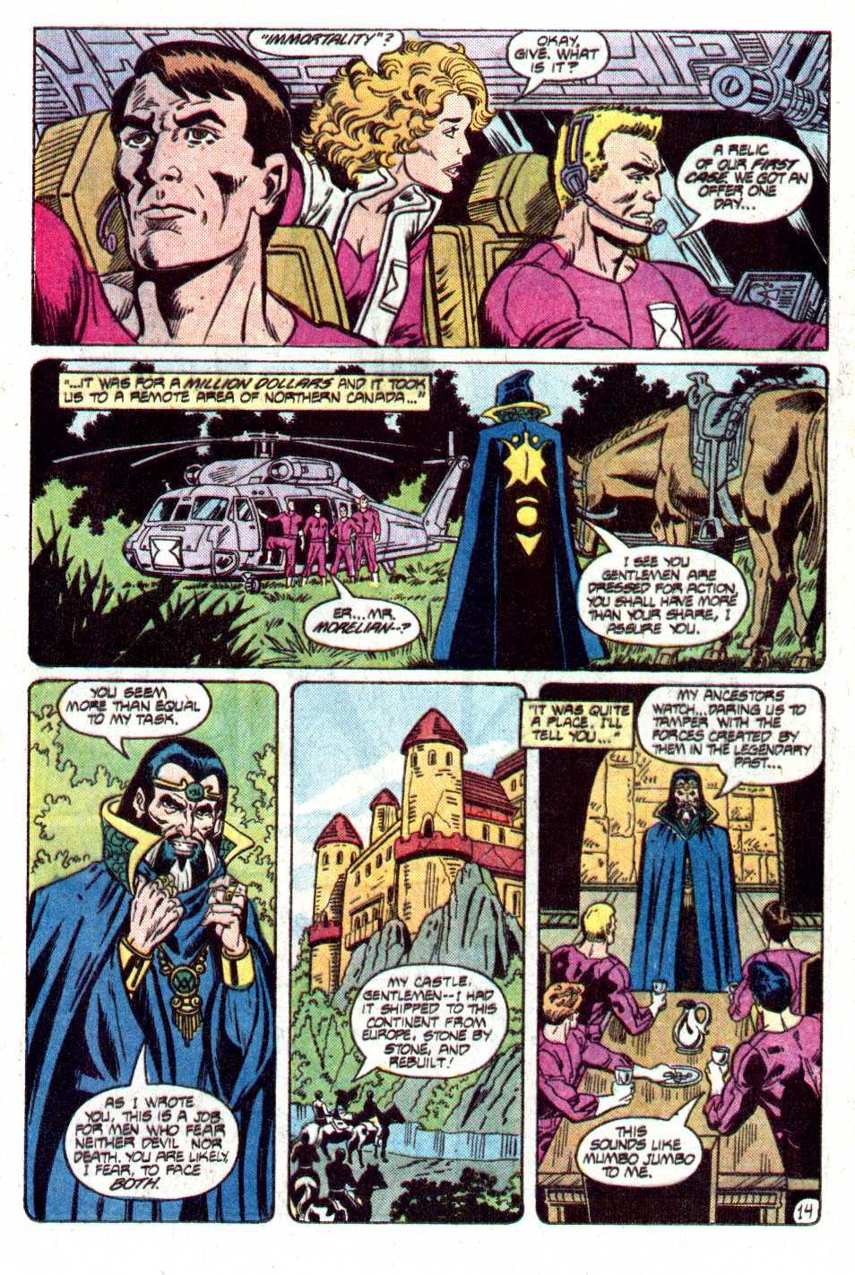 Read online Secret Origins (1986) comic -  Issue #12 - 32