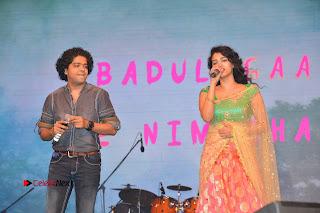 Singer Manisha Eeraini Stills in Half Saree at Nenu Local Audio Launch  0012.JPG