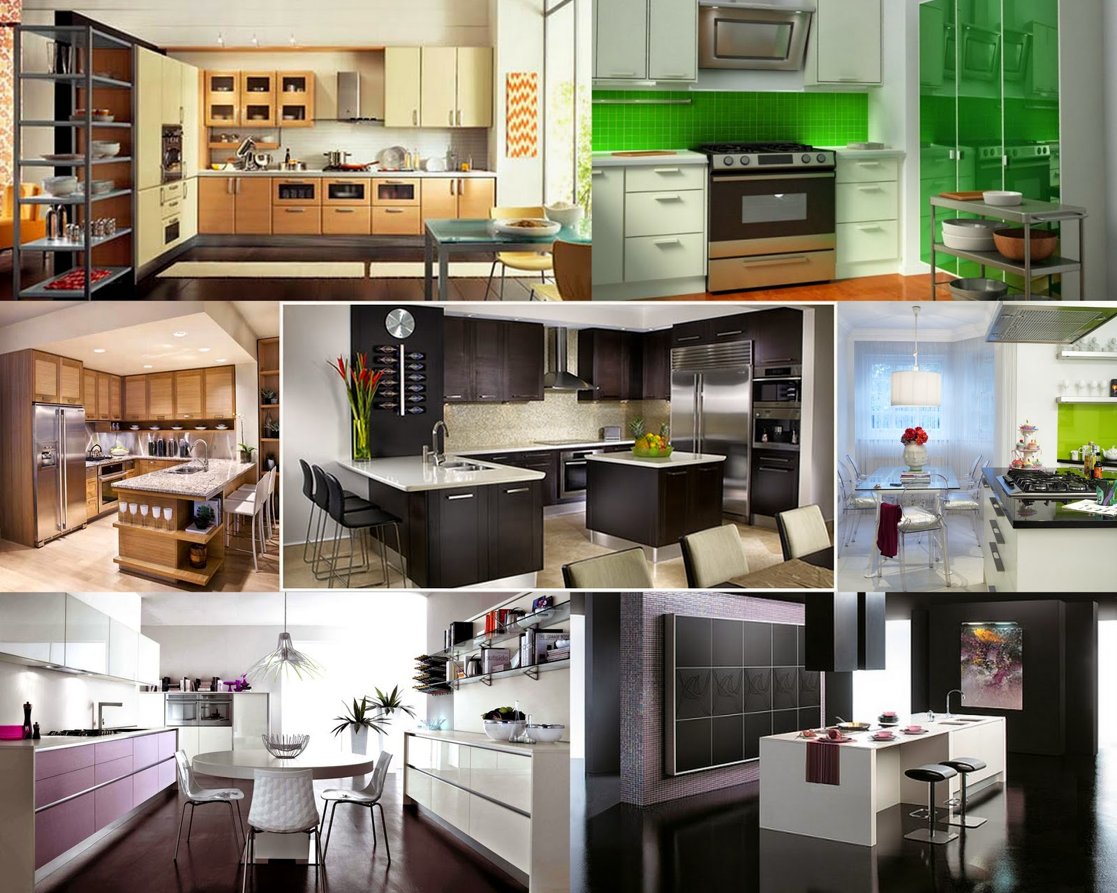 Modern Kitchens For Cooking And Dining