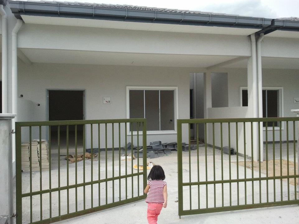 Rumah Teres Setingkat Cantik Design Rumah Terkini