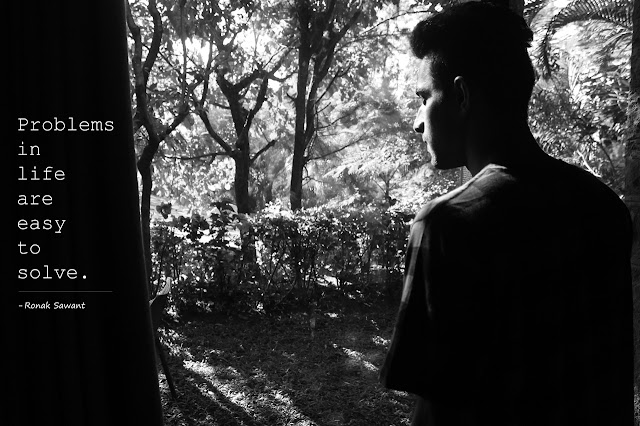 Cover Photo: Problems in life - Ronak Sawant