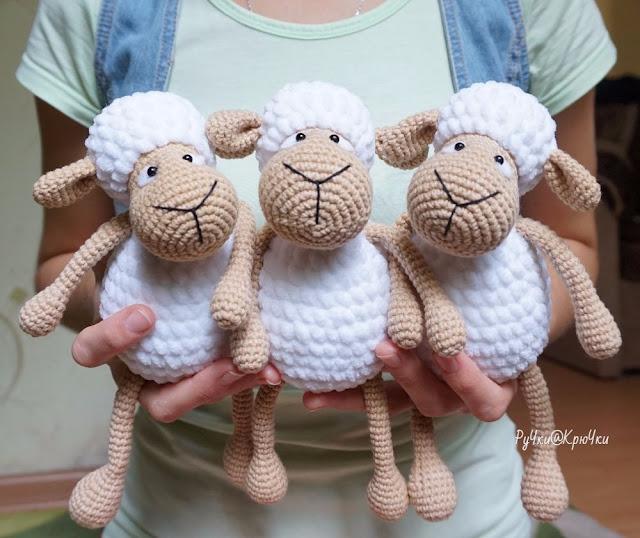 Amigurumi Sheep-Free Pattern - Amigurumi Free Patterns