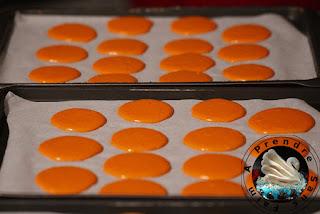 Macarons chocolat ananas (pas à pas en photos)