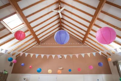 Wedding Venue Decoration Service Dorset Hampshire Village Hall