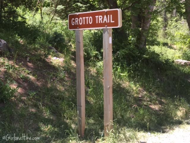 The Grotto Trail and Waterfall, Nebo Scenic Loop Road, Hiking in Utah with Dogs