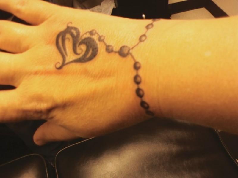 wrist tattoo design for 2011