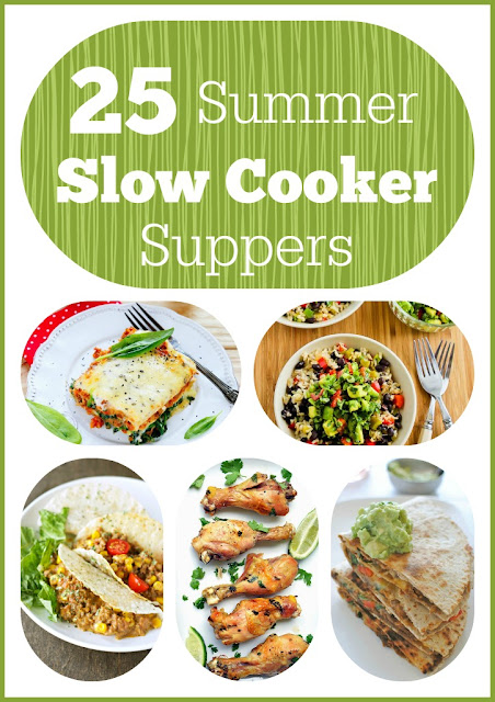 25 Slow Cooker Summer Suppers