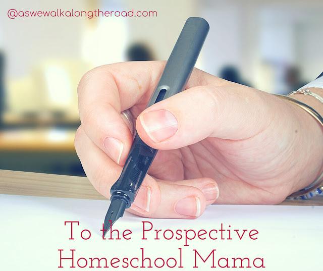 Encouragement for the prospective homeschool mom