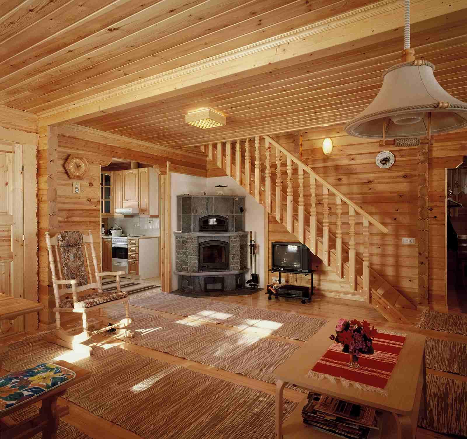 Case in legno prefabbricate for Interno di una casa