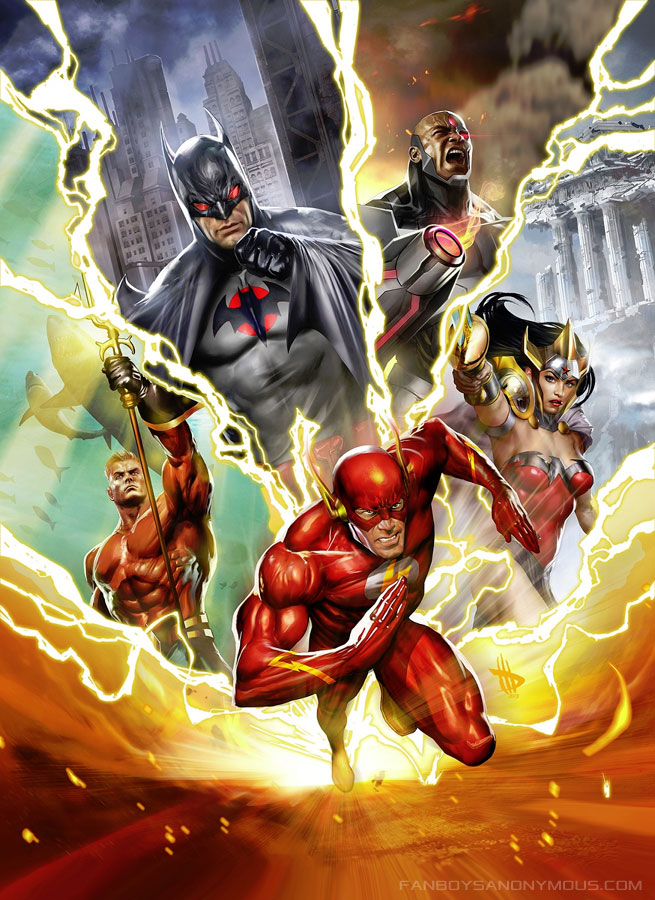 Watch Justice League Flashpoint Paradox Movie Torrent Download Online