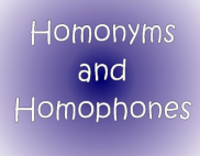 Homofon, Homograf, Homonim (Pengertian, dan Contoh)