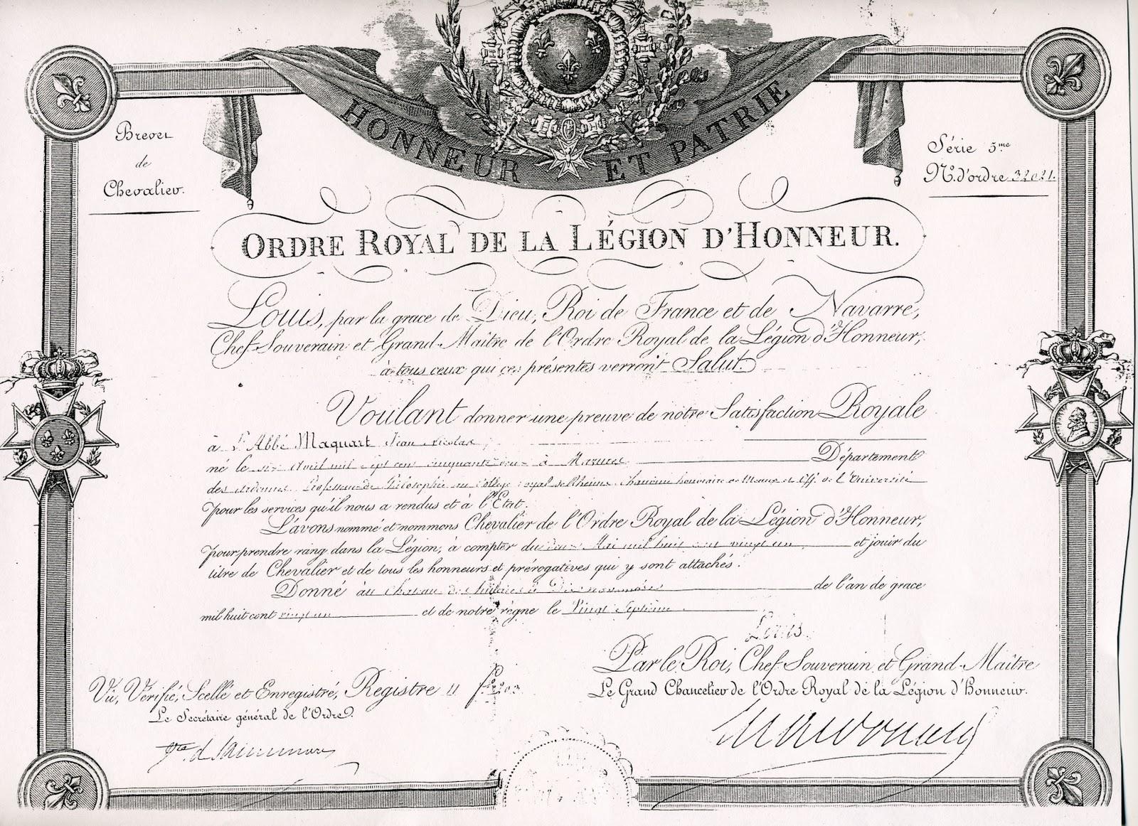 Napoleonic Documents and Manuscripts