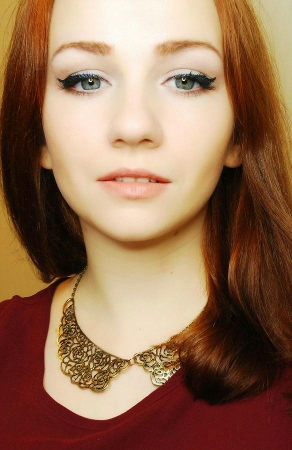 makijaż , aliexpress, makeup , make up , metamorfoza , blog, kosmetyki , karnawał , kreska, liner, jak zrobić