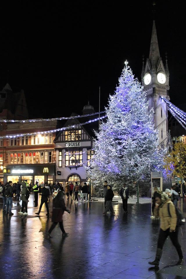 Martin Brookes Oakham Rutland England: Leicester Christmas Lights ...