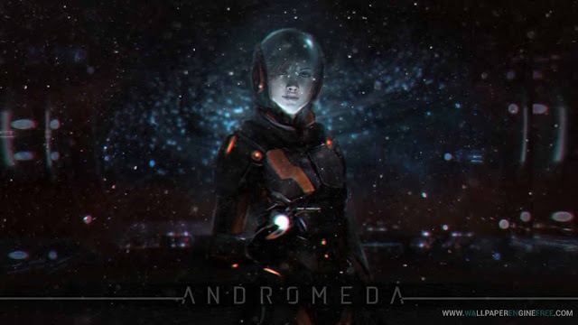 Andromeda v2.0 Photorealistic 1080P Wallpaper Engine