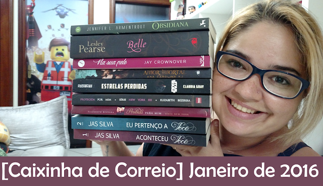 [Book Haul] Janeiro - 2016