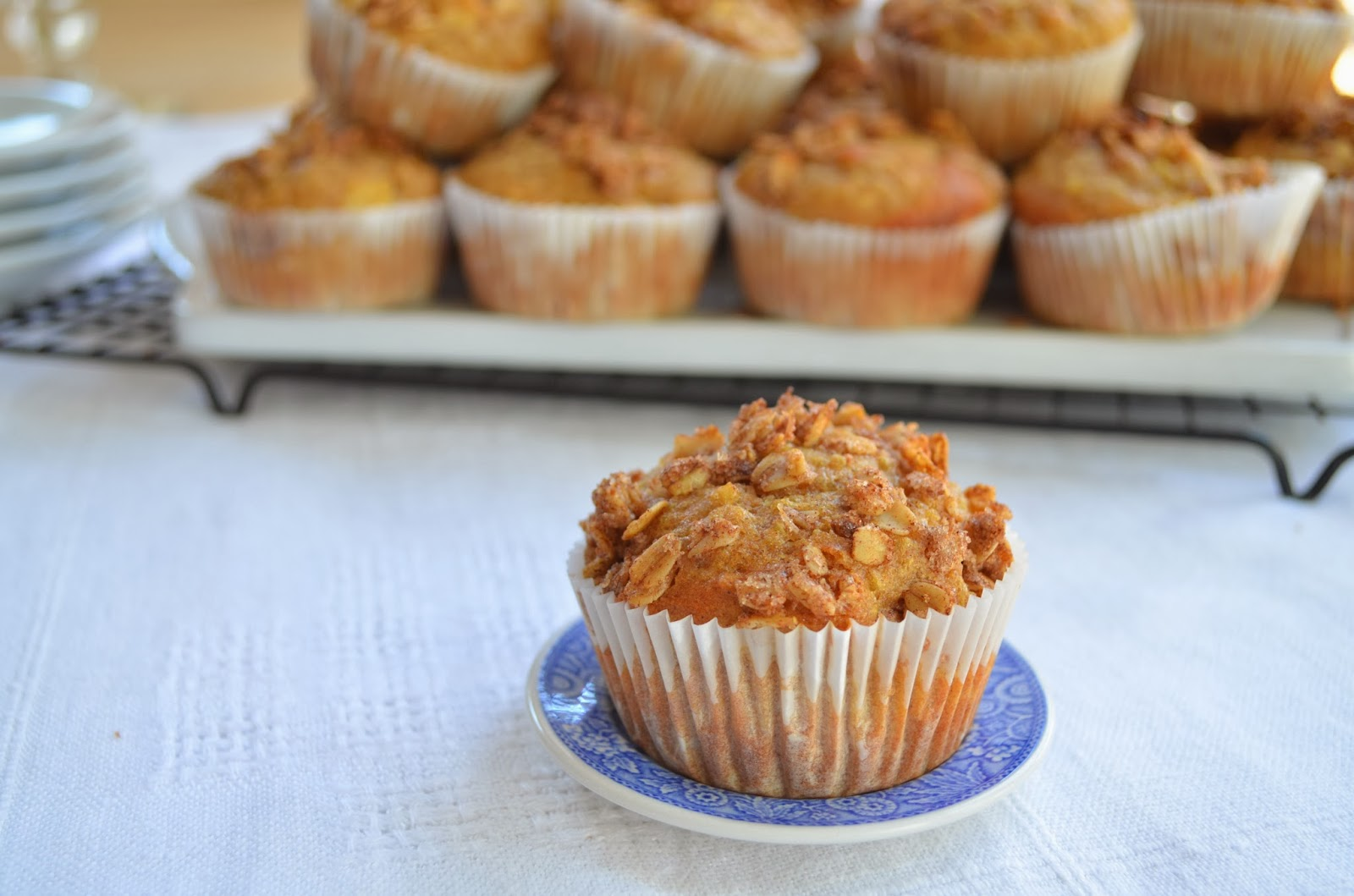 Quinoa and Apple Muffins - Smell of Rosemary.