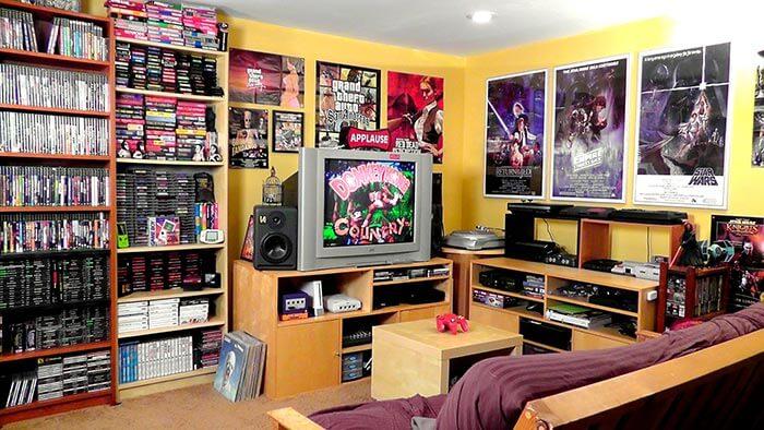 konsept nostalji oyun odası dekorasyonu
