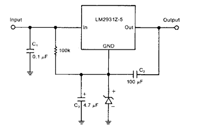 Zener Diode Increase Regulator Output Circuit Diagram